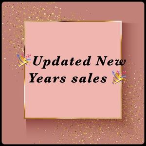 🎉New years sales🎉